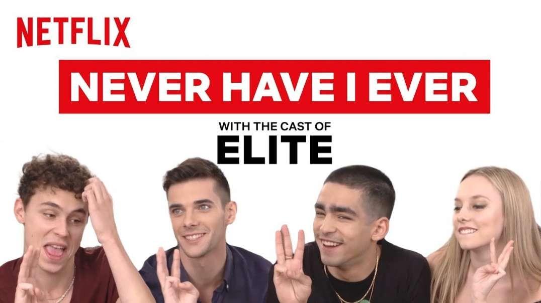 بازیگران سریال نخبه elite : مکالمه بازی گونه هرگز انجام ندادم|دادم ( نداشتم )