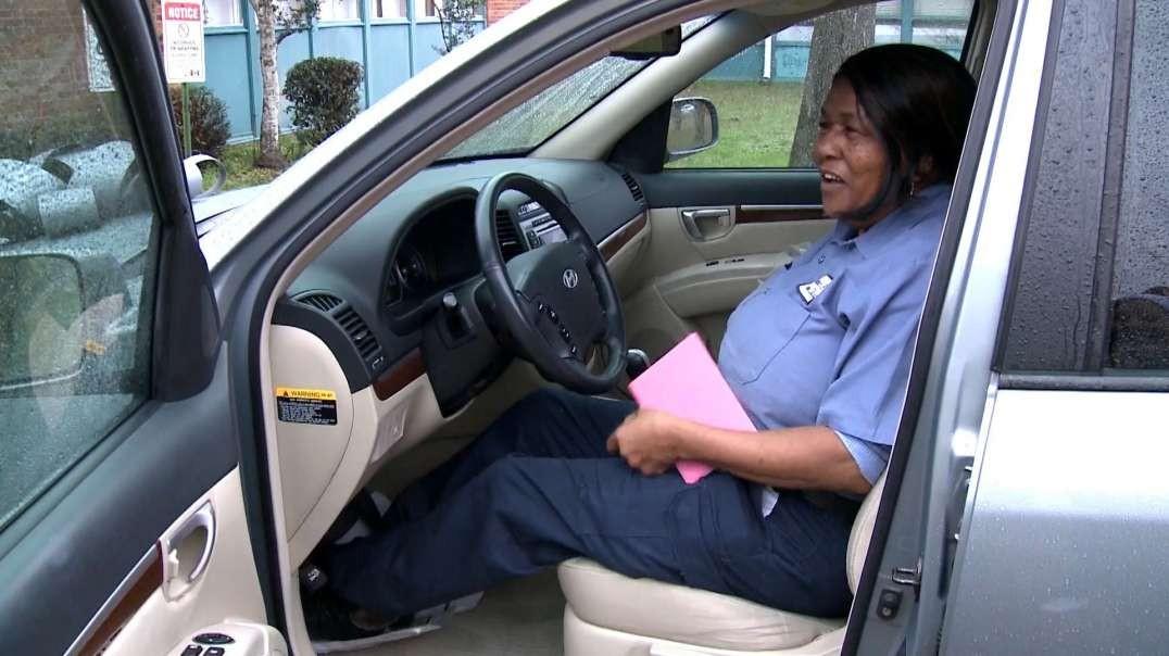 سرایدار مدرسه ابتدایی با SUV جدید شگفت زده شد