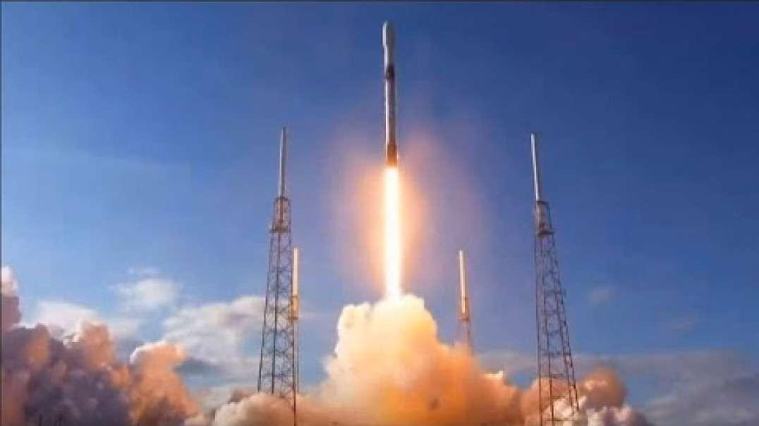 پرتاب موفقیت آمیر 60 ماهواره جدید توسط SpaceX