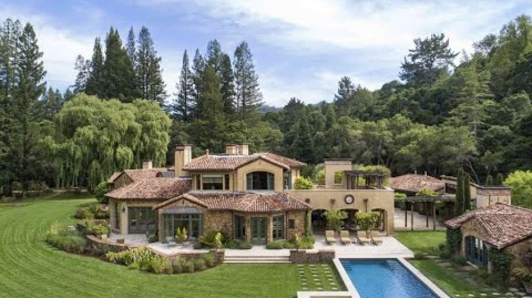 املاک بی نظیر توسکانی سبک در Woodside ، کالیفرنیا | املاک بین المللی ساتبیز