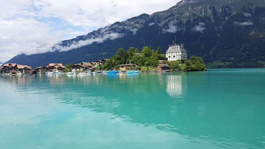 اینترلاکن ، سوئیس - شهرک بین دو دریاچه