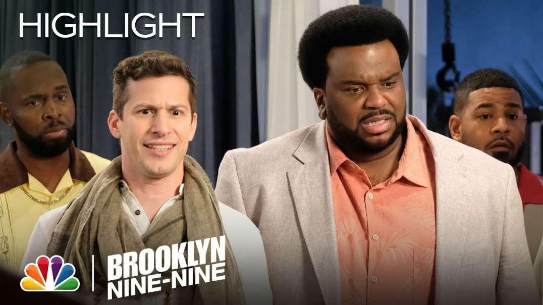جیک و داگ جودی در حال دزدی معکوس الماس - Brooklyn Nine-Nine