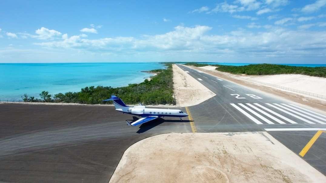 جزیره خصوصی 120 میلیون دلار با فرودگاه خصوصی - باهاما