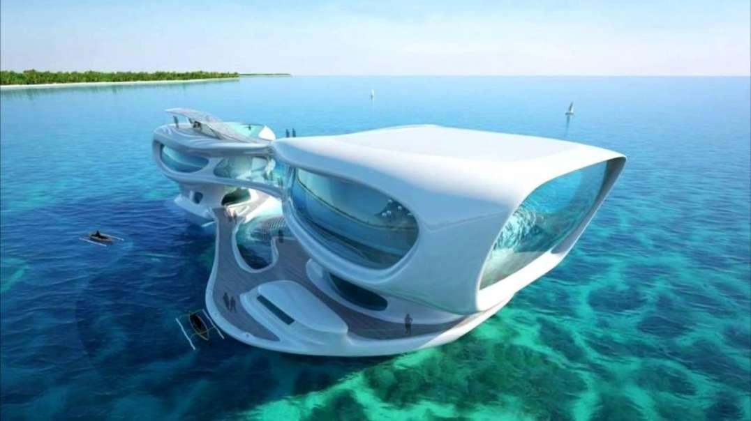 10 خانه قایقی باور نکردنی و خانه های شناور | زندگی در آب سال 2020