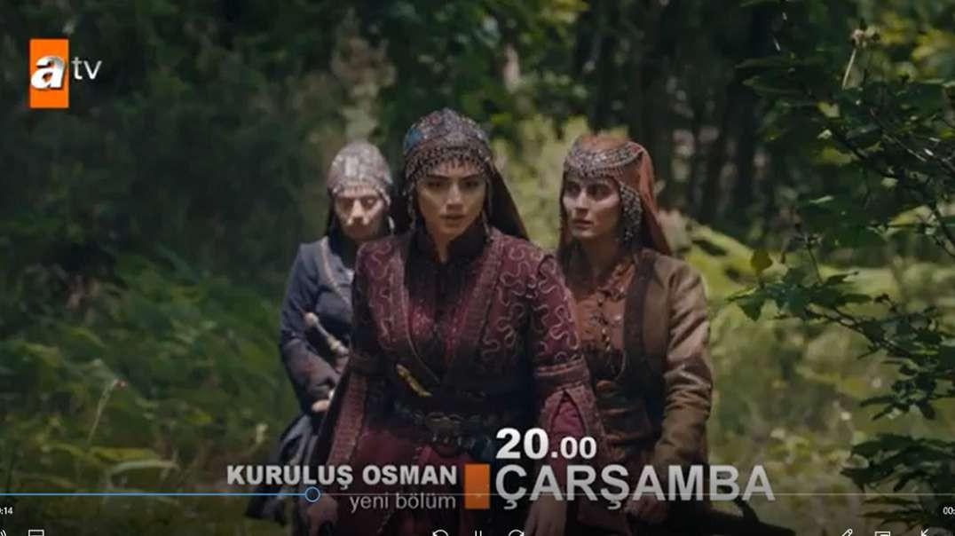 تیزر دوم از قسمت 23 سریال قیام عثمان + زیرنویس فارسی