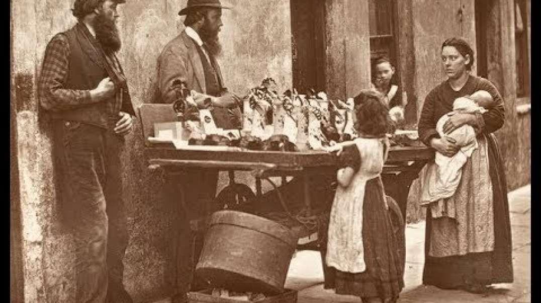 زندگی و خیابان های لندی 1876-1877